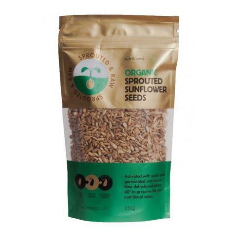 Sun & Seed Ακατέργαστοι Φυτρωμένοι Σπόροι Ηλίανθου 250γρ