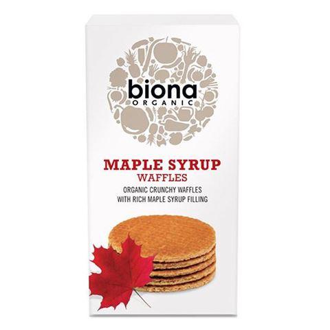 Biona Βάφλες με σιρόπι Σφενδάμου 175γρ