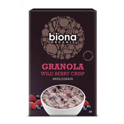 Biona Granola με αγρια μουρα 375γρ