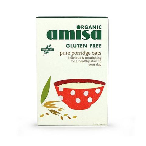 Amisa Porridge Βρώμης Χωρίς Γλουτένη & Σιτάρι 325γρ