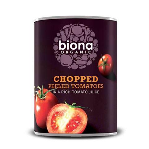 Biona Ψιλοκομμένες Τομάτες σε πλούσιο χυμό Τομάτας 400γρ