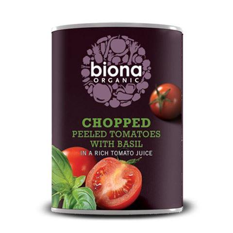 Biona Ψιλοκομμένες Τομάτες με Βασιλικό 400γρ