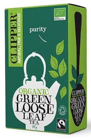 Clipper Πράσινο τσάι χύμα 100γρ