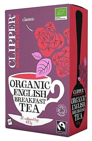 Clipper Τσάι English Breakfast 20x2,5γρ