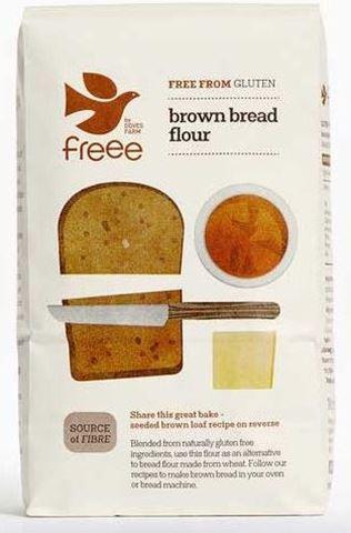 Doves Farm Μείγμα Aλεύρων για Σκούρο Ψωμί χωρίς γλουτένη 1kg