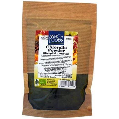 Όλα Bio Χλωρέλλα σκόνη (Chlorella powder) ΒΙΟ 100γρ