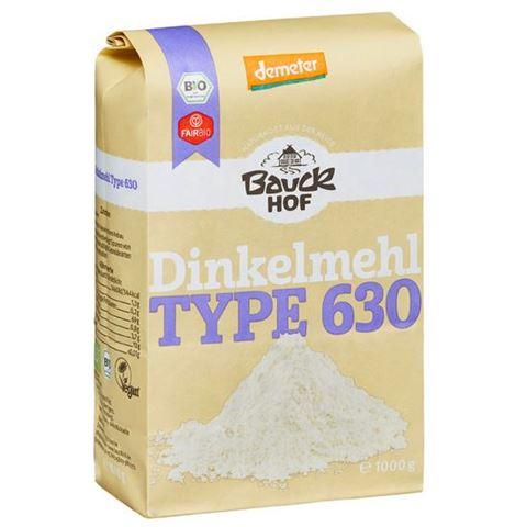 Bauck hof Αλεύρι Dinkel Λευκό Τ 630 - τύπου Μ 1kg