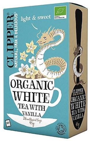 Clipper Λευκό Τσάι με βανίλια 26x2γρ