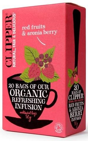 Clipper Εκχύλισμα Κόκκινων Φρούτων με καρπούς Αρώνια 20x2γρ