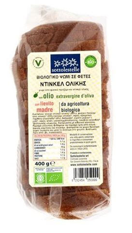 Sottolestelle Ψωμί Ντίνκελ Ολικής σε Φέτες 400γρ