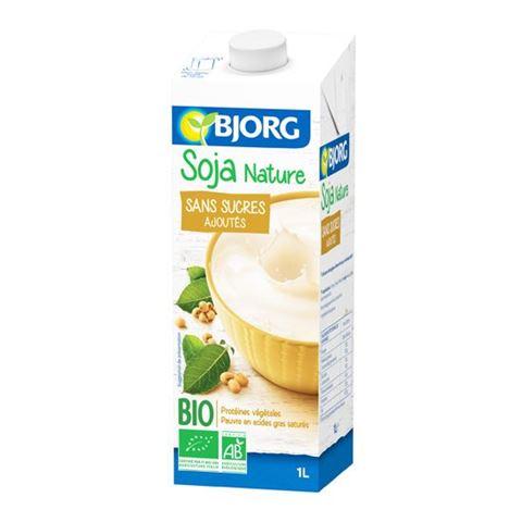 Bjorg Ρόφημα Σόγιας Φυσικό χωρίς ζάχαρη 1λτ