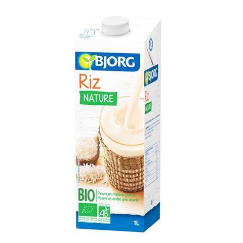 Bjorg Ρόφημα Ρυζιού χωρίς ζάχαρη 1λτ
