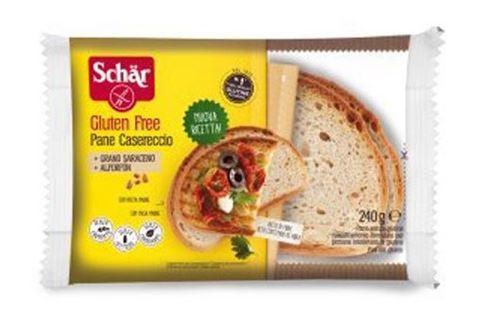 Dr. Schar Ψωμί Χωριάτικο σε φέτες χωρίς Γλουτένη, Σιτάρι, Λακτόζη, 240γρ