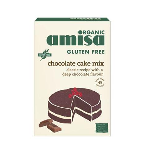 Amisa Μείγμα Κέικ Σοκολάτας 400γρ