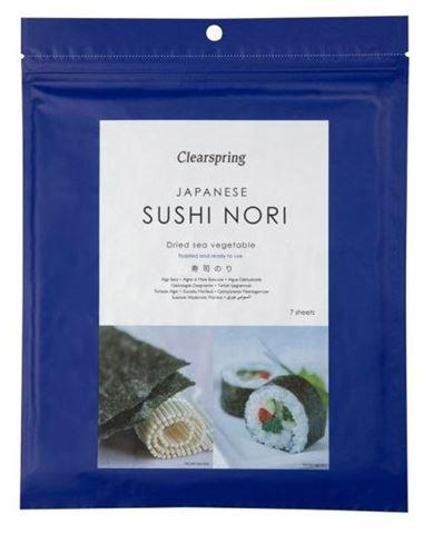 Clearspring Sushi Nori Αποξηραμένα Χόρτα Θαλάσσης 17γρ