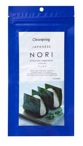Clearspring Nori - Hoshi Αποξηραμένα Φύκια Θαλάσσης 25γρ
