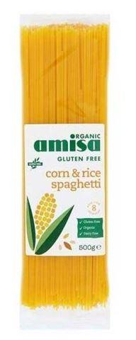 Amisa Σπαγγέτι από Καλαμπόκι και Ρύζι 500gr