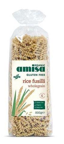 Amisa Βίδες από Καστανό Ρύζι 500gr