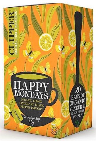 Clipper Εκχύλισμα Happy Mondays 20x2,25γρ