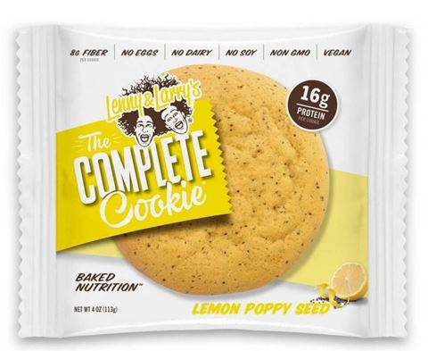 Lenny & Larry's The Complete Lemon Poppy Seed Cookie 113gr