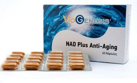 Viogenesis Nad Plus Anti-Aging 60 Κάψουλες