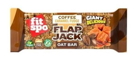 Fit Spo Μπάρα βρώμης FLAPJACK Καφές & Καραμέλα 90gr