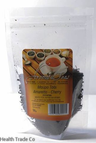 Health Trade Μαύρο τσάι Amaretto-Cherry 50gr