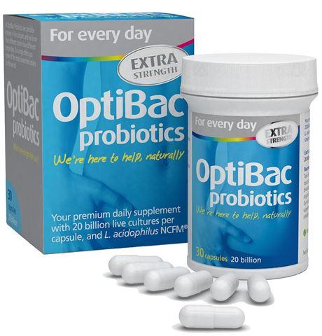Optibac Probiotics για κάθε ημέρα extra strength 30 Κάψουλες