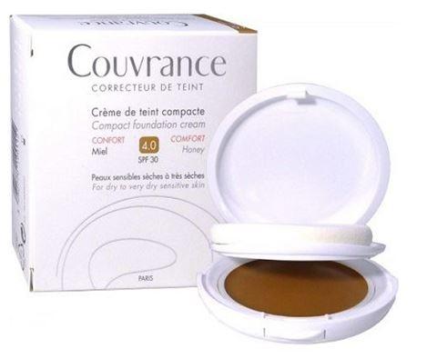 Avene Couvrance Compact Foundation, Miel 4.0, SPF30, 10γρ