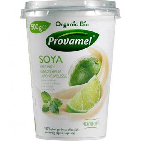 Provamel Επιδόρπιο σόγιας Lime Μελισσόχορτο ΒΙΟ 500gr Χωρίς Ζάχαρη