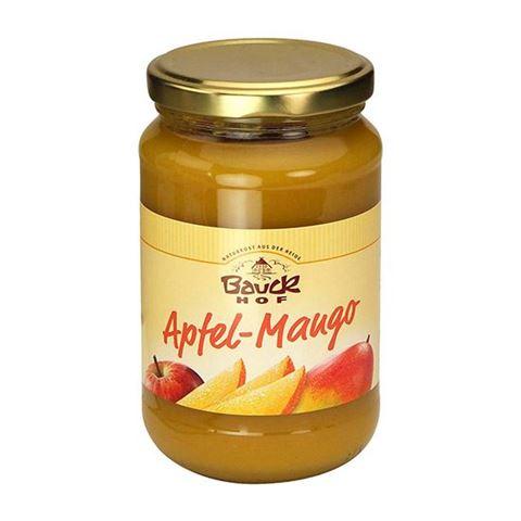 Bauck hof Πουρές Μήλο & Μάνγκο χωρίς ζάχαρη 360γρ