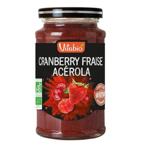 Vitabio Επάλειμμα Αντιοξειδωτικό με Cranberry Φράουλα Ασερόλα 290γρ