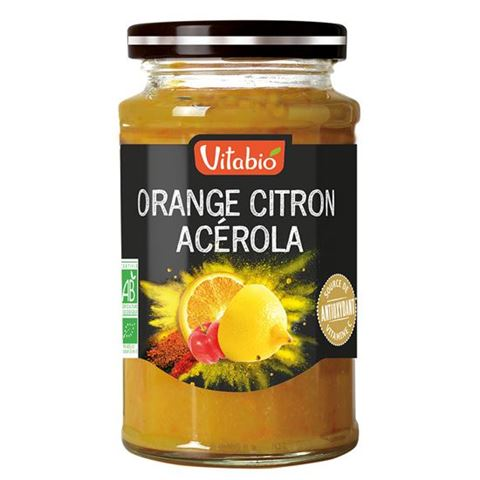 Vitabio Επάλειμμα Αντιοξειδωτικό με Πορτοκάλι, Λεμόνι & Ασερόλα 290γρ