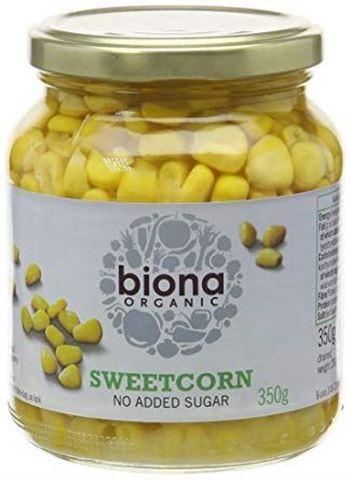 Biona Γλυκό Καλαμπόκι σε βάζο 350γρ