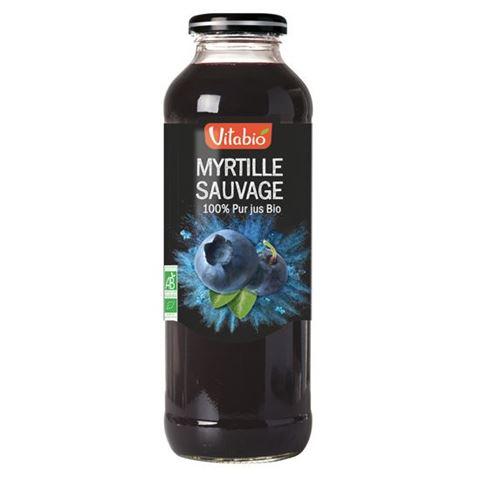Vitabio Χυμός Άγριο Μύρτιλλο 500ml
