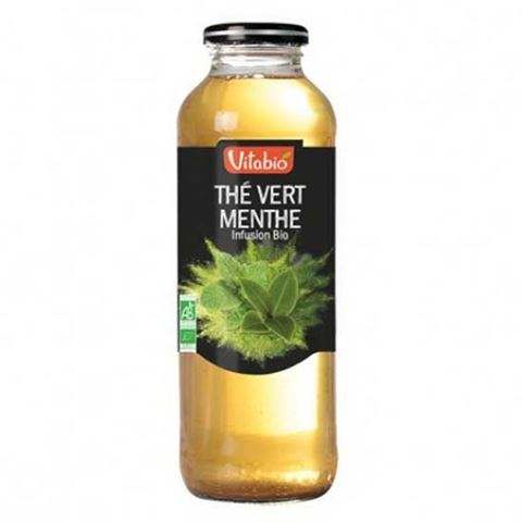 Vitabio Βιολογικό Πράσινο τσάι με Μέντα 500ml