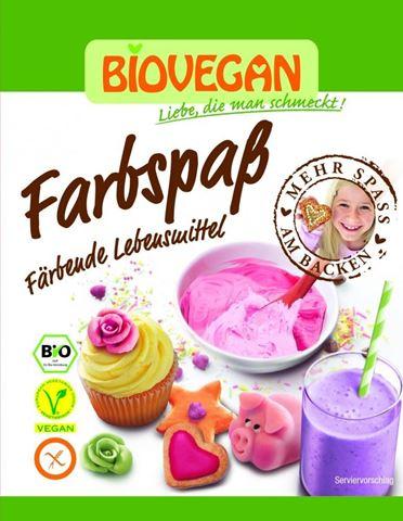 Biovegan Βιολογικά Χρώματα Τροφίμων 5Χ8gr
