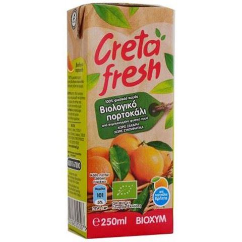 Gretafresh Χυμός πορτοκάλι Κρήτης ΒΙΟ 250ML