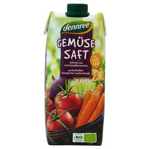 Dennree Xυμός Λαχανικών ΒΙΟ 500ml