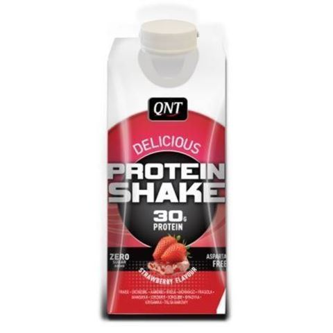 QNT Delicious Protein Shake 30gr Protein Φράουλα 330ml