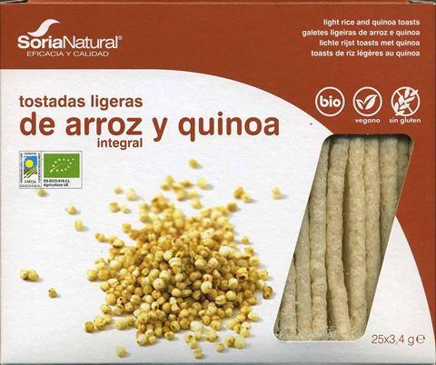 Soria Κράκερς ρυζιού-κινόα Χ/ΓΛ ΒΙΟ 85γρ