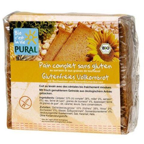 Pural Ψωμί ολικής σε φέτες με ηλιόσπορο 375γρ