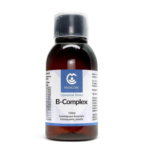 MediCore Λιποσωμιακή Φόρμουλα B Complex 150ml PineApple Flavor