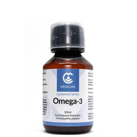 MediCore Λιποσωμιακό Omega-3 100ml PineApple flavor