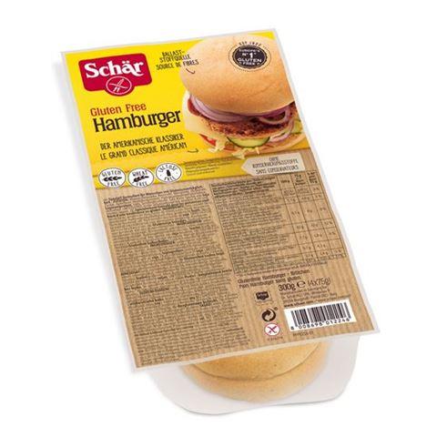 Dr. Schar Ψωμάκια για χάμπουργκερ χωρίς γλουτένη/σιτάρι/λακτόζη 300γρ