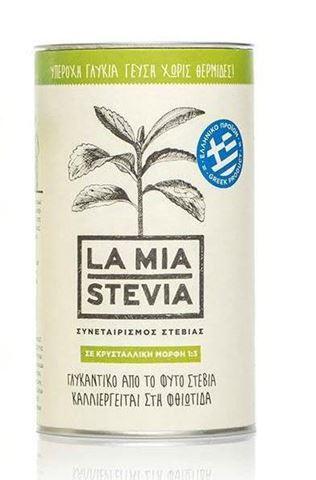 La Mia Stevia Κρυσταλλική Στέβια 1:3, 300gr