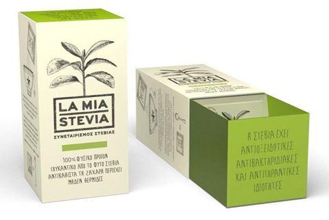 La Mia Stevia Κρυσταλλική Στέβια 1:3, 200 Sticks, 400gr