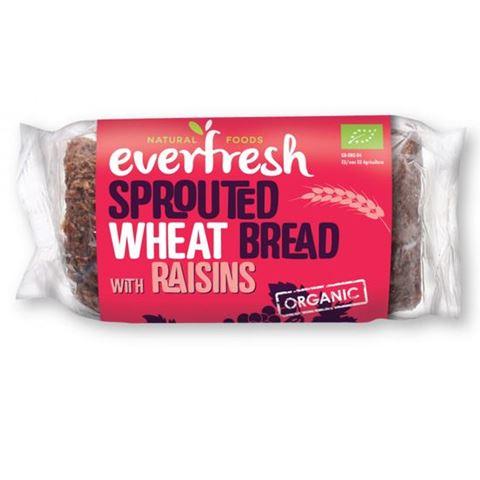Everfresh Ψωμί Φύτρου Σιταριού με Σταφίδες ΒΙΟ 400gr