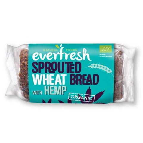 Everfresh Ψωμί Φύτρου Σιταριού με Κάνναβη ΒΙΟ 400gr