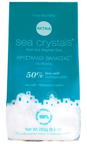 Ακταία Κρύσταλλοι Θάλασσας®  - 50% σε Νάτριο 250g